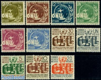 United Nations 11v