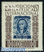 Stamp exposition 1v