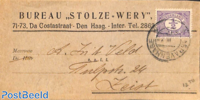 Wrapper with 1/2c stamp