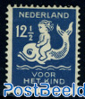 12.5+3.5c, child on dolphin, stamp out of set