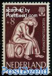 12+8c, refugees, Stamp out of set