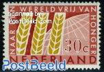 30c, Freedom from hunger, Stamp out of set