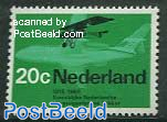 20c, Fokker F2 and F28, Stamp out of set