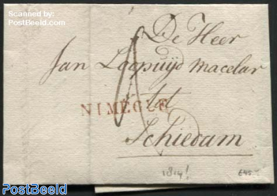 Letter from Nijmegen to Schiedam