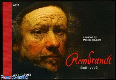 Rembrandt Prestige booklet, NVPH cat.value 50.00