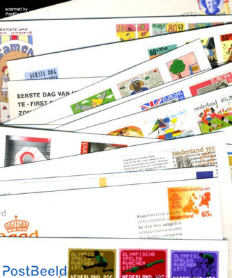 Starters collection 100 diff. FDC (1965-2010period