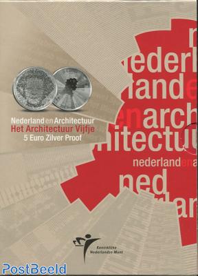 Proofset 5 Gulden, Architecture