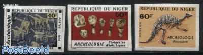 Archeology 3v, imperforated