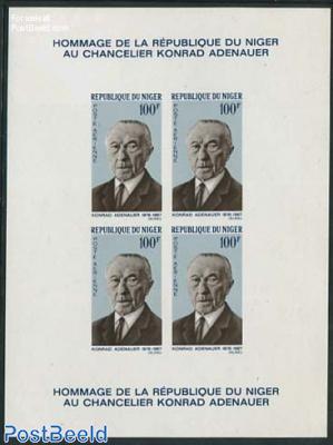 Konrad Adenauer Epreuve de Luxe