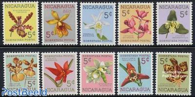 Orchids 10v