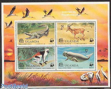 WWF, animals s/s