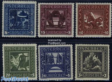 1926 Nibelungen Sage 6v