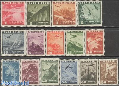 Airmail definitives 15v