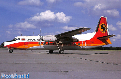 Fokker F27 MK 600, TAAG Angola Airlines