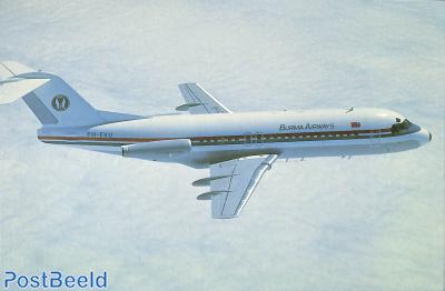 Fokker F28 MK 4000, Burma Airways