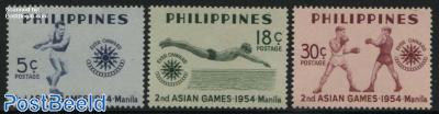 2nd Asian games 3v