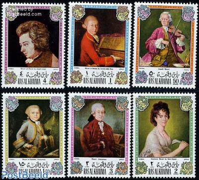 W.A. Mozart 6v
