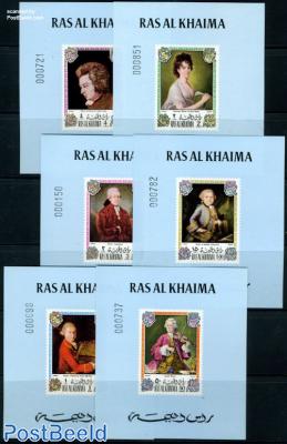 W.A. Mozart 6 s/s