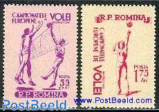 European volleyball games 2v