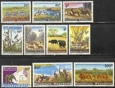 Kagera national park 10v