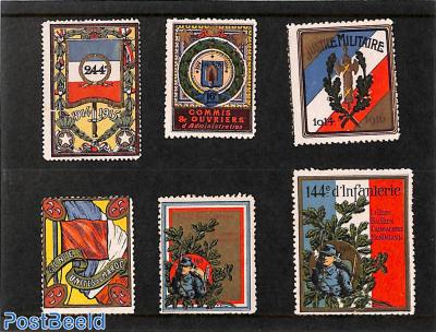 Lot with seals, World War I
