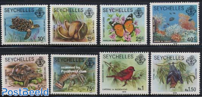 Definitives 8v with year 1979