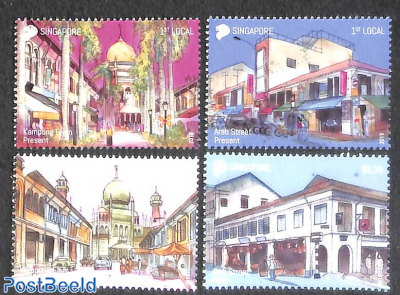 Historical buildings 4v