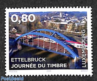 Stamp day Ettelbruck 1v