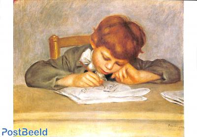 Renoir, Le fils de l'artiste, Jean, dessinant
