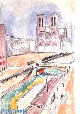 Henri Matisse, Notre Dame de Paris 1914