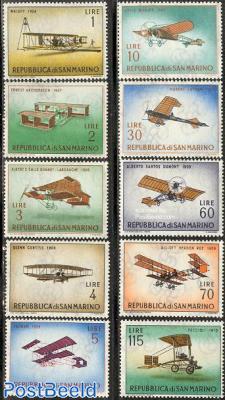 Aeroplanes 10v