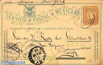 Postcard 3c, used