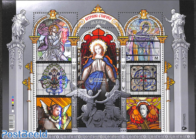 Stained glass windows of Lviv 7v m/s