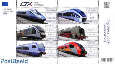 Modern trains 6v m/s