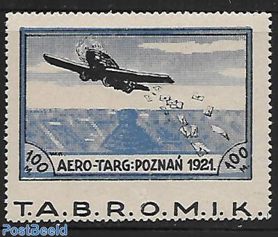 imperforated between stamp and tab.