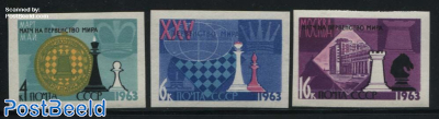 Chess 3v imperforated