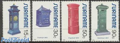 Mail boxes 4v