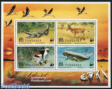 WWF animals 4v m/s