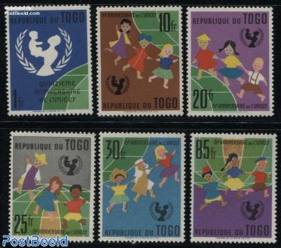 UNICEF 6v