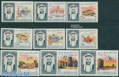 Airmail definitives 9v