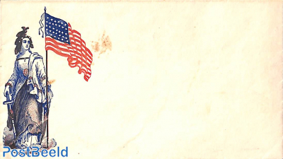 Civil war envelope,