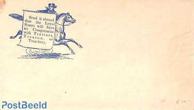 Civil war envelope, Send it abroad