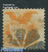 30c Orange, used