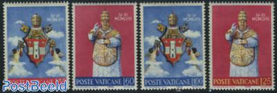 Pope John XXIII 4v