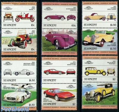 Automobiles 6x2v [:] (Rolls Royce,Cord,Citroen,For
