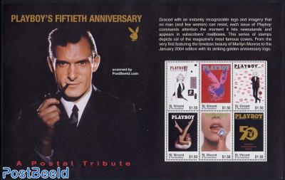 50 years Playboy 6v m/s