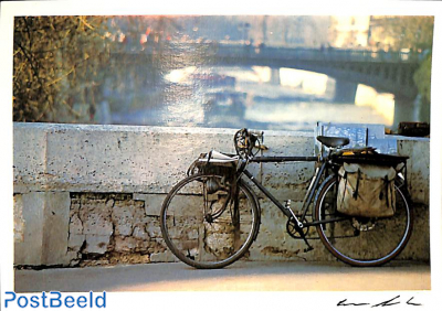 The artist's bicycle