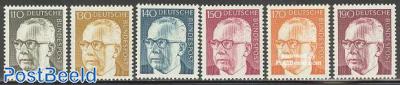 Definitives, Heinemann 6v