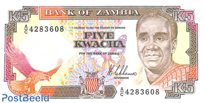 Five kwacha