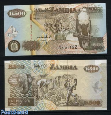 Five hundred kwacha